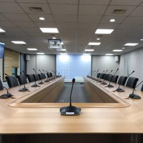 엔지니어링공제조합 회의실